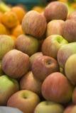 Äpfel am Markt Lizenzfreie Stockfotografie