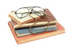 Ein Stapel alte Bücher Stockfotos