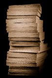 Ein Stapel alte Bücher Lizenzfreies Stockbild