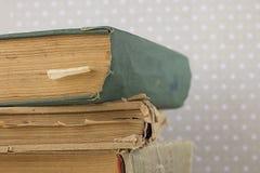 Ein Stapel alte Bücher Lizenzfreie Stockfotos
