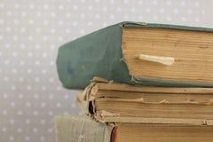 Ein Stapel alte Bücher Stockbild