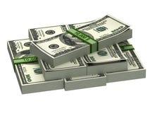 Ein Stapel Banknoten Stockfotos