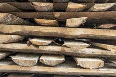 Ein Stapel Brennholz Lizenzfreies Stockbild