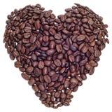 Liebe des Kaffees Lizenzfreie Stockbilder
