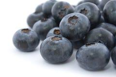 Ein Stapel der fresch Blaubeeren Stockbild