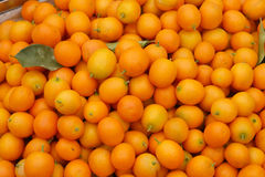 Ein Stapel der japanischer Orange Stockfotos