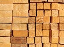 Ein Stapel der Planken Lizenzfreies Stockfoto