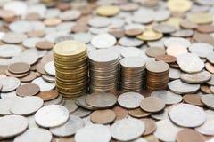 Ein Stapel des Geldes in Taiwan