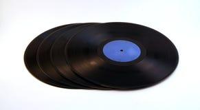 Ein Stapel des Vinyls Lizenzfreie Stockfotos