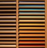 Ein Stapel Farben stockfotografie