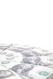 Ein Stapel FO 100 Dollaranmerkungen Stockfotos