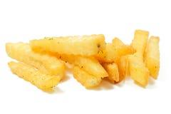 Ein Stapel von appetitanregenden Pommes-Frites Lizenzfreie Stockbilder