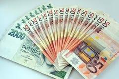 Ein Stapel von Banknoten Stockfotografie