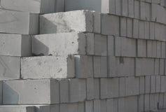 Ein Stapel von Baublöcken stockbilder