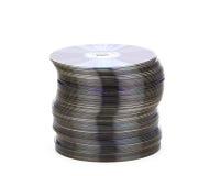 Ein Stapel von CDs Stockfotos