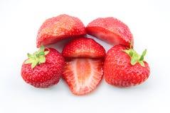 Ein Stapel von Erdbeeren Stockbilder