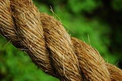 Ein starkes, großes und raues Seil stockbilder