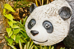 Ein Statue-Panda Lizenzfreie Stockbilder