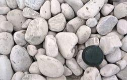 Ein Stein, der heraus steht Lizenzfreies Stockbild