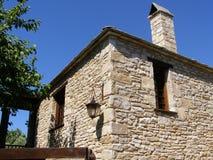 Ein Steinhaus Stockfotos