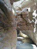 Ein Steinlabyrinth der Schlucht Saklıkent Stockfotos