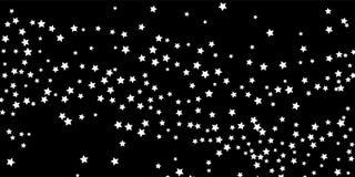 Ein Sternschnuppenhintergrund stock abbildung
