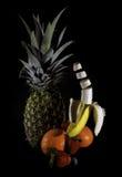 Sich hin- und herbewegende Banane lizenzfreies stockbild