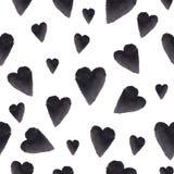 Ein stilvolles minimalistic Valentinsgruß ` s Tagesmuster lizenzfreies stockbild