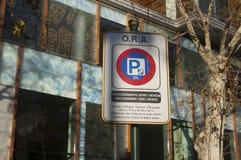 Ein Straßenschild Lizenzfreie Stockfotos