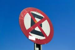 Ein Straßensignal Lizenzfreies Stockfoto