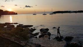 Ein Strand Stockfotos