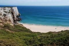 Ein Strand in Algarve Stockbilder