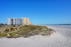 Ein Strandhotel Lizenzfreies Stockbild