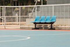 Ein Stuhl Stockbild