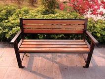Stuhl im Park Lizenzfreie Stockfotos