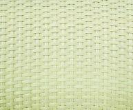 Ein StuhlKorbgeflechtmuster Stockbild