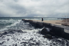 Ein Sturm lizenzfreie stockfotografie