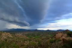 Ein Sturm kommt Lizenzfreie Stockbilder