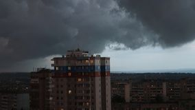Ein Sturm kommt stock video footage