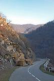 Ein Systemabsturz in den Bergen stockfoto