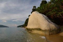Ein szenischer Felsen Ko Adang Satun-Provinz thailand Lizenzfreies Stockbild