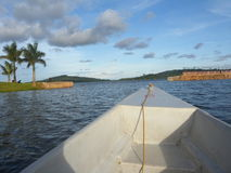Ein Tag auf dem Boot Stockfotografie