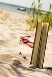 Ein Tag auf dem Strand Lizenzfreie Stockfotografie