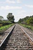 Ein Tag auf der Eisenbahn stockbilder