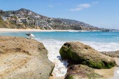 Ein Tag im Laguna Beach, Kalifornien lizenzfreie stockfotografie