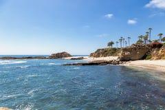 Ein Tag im Laguna Beach, Kalifornien stockbilder