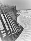 Ein Tag im Sand stockbild