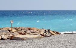 Ein Tag in Meer Lizenzfreies Stockfoto