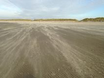 Ein Tag am Strand Stockfotos