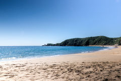 Ein Tag am Strand Lizenzfreies Stockbild
